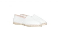 Leather-Espadrilles beige