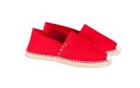 Espadrilles handmade red