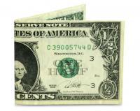 Mighty Wallet - Half Dollar